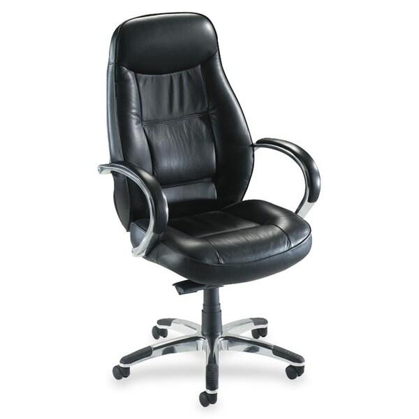 Lorell Ridgemoor Executive High Back Swivel Chair Free Shipping Today Ove