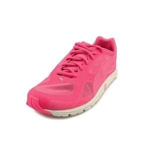Puma Women's 'Faas 100 R GLOW Wn' Basic Textile Athletic Shoe (Size 6.5 )