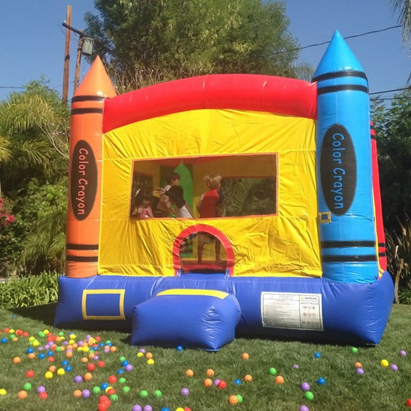 DuraLite 13-foot Crayon Party House