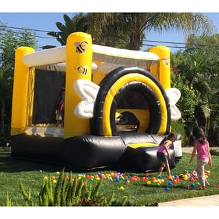 DuraLite 11-foot Busy Bee Party Bouncy House|https://ak1.ostkcdn.com/images/products/9122017/P16305981.jpg?impolicy=medium