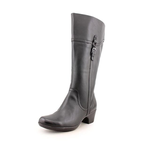 d2f384d5bef3 Shop Clarks Women s  Ingalls Vicky  Leather Boots - Wide (Size 11 ...