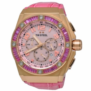 TW Steel TWS-CE4006 CEO Tech Pink Watch