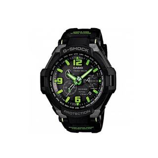 Casio Men's G1400-1A3 G-Shock Black/ Green Digital Watch