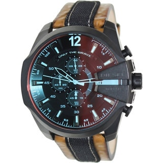 Diesel Men's DZ4305 'Mega Chief' Black Watch