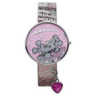 Ingersoll Disney 'Mickey and Minnie' Large Alloy Watch