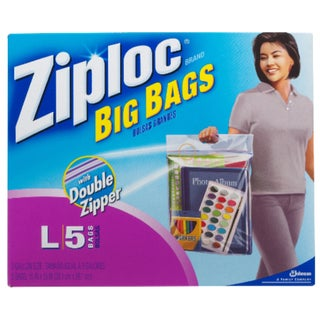 Ziploc Big Bag with Double Zipper (8-Count)