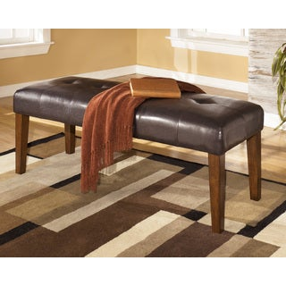 Signature Design by Ashley Lacey Brown Dining Room Bench