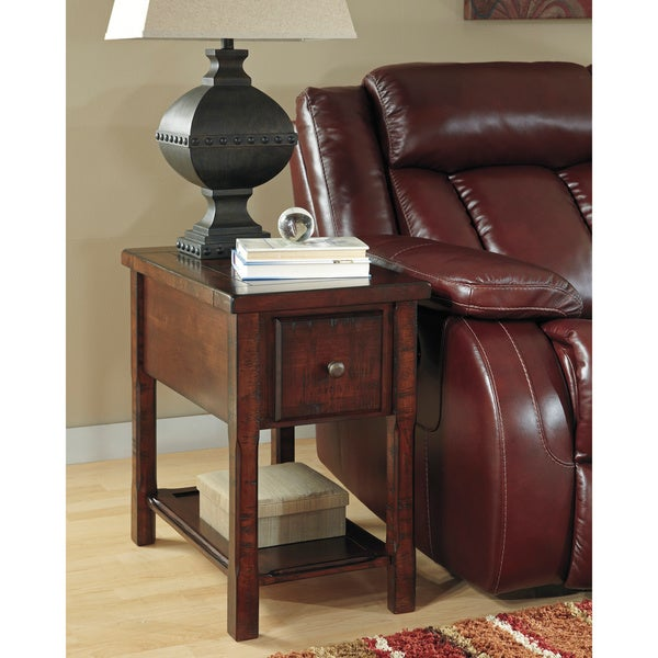 Shop Signature Designs By Ashley Chair Side End Table