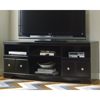 Signature Designs by Ashley Shay Black LG TV Stand