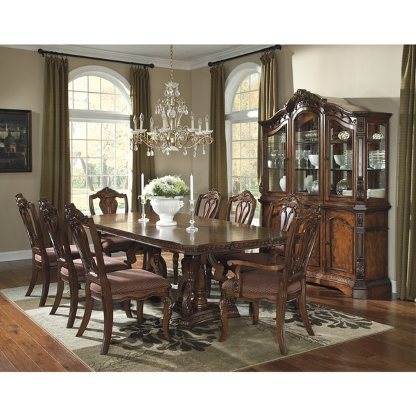 Ashley Furniture Dining Room Table: Shop Signature Designs By Ashley Ledelle Brown Rectangular