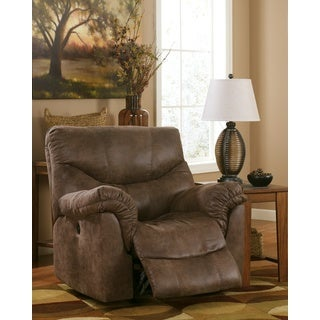 Signature Design by Ashley Alzena Gunsmoke Rocker Recliner