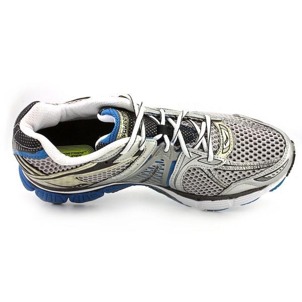 Women's Saucony ProGrid TRIUMPH 7 •WhiteBlue• Running Shoe Wide Width