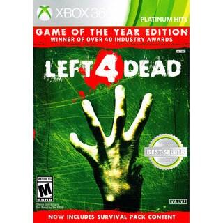 LEFT 4 DEAD PH GOTY XB360