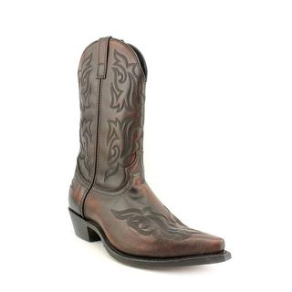 Laredo Men's 'Hawk Western Boot' Faux Leather Boots - Extra Wide (Size  8 )