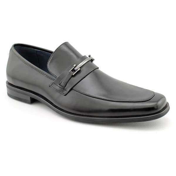 2237dbe9bf6 Shop Steve Madden Men's 'P-Calvyn' Leather Dress Shoes (Size 10 ...