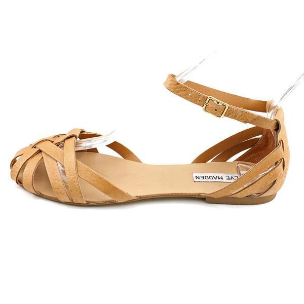 Steve Madden Women S P Trivol Leather Sandals Size 8