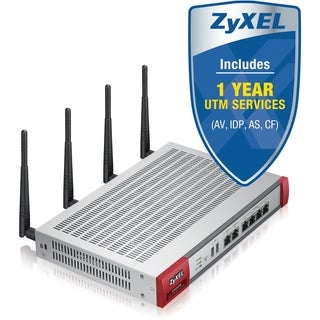ZyXEL USG60W Next-Generation USG 11n Firewall, With 1 Year UTM Servic