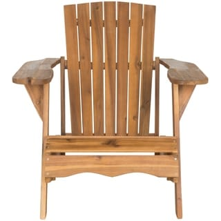 Safavieh Outdoor Living Vista Brown Acacia Wood Adirondack Chair