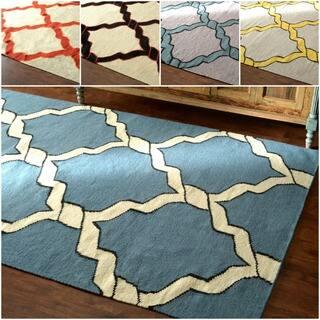 nuLOOM Flatweave Lattice Wool Rug (8' 6x 11' 6)|https://ak1.ostkcdn.com/images/products/9126381/nuLOOM-Flatweave-Lattice-Wool-Rug-8-6x-11-6-P16309784.jpg?impolicy=medium
