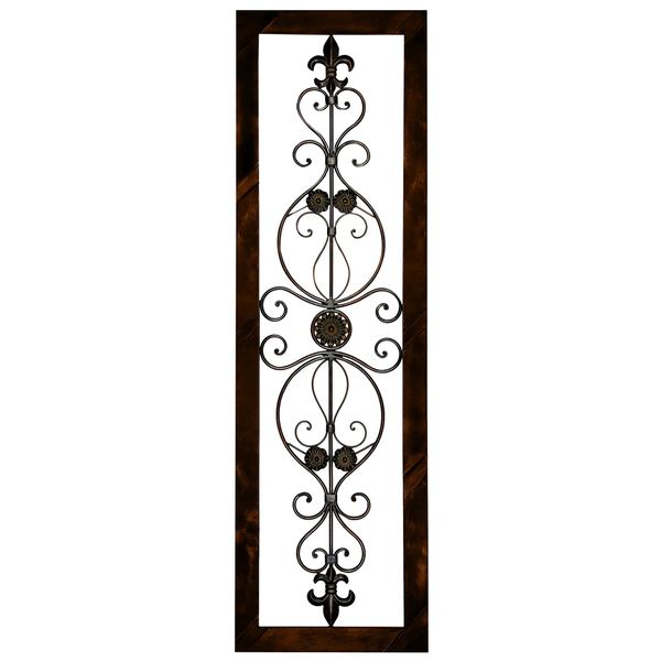 Metal Wall Plaque