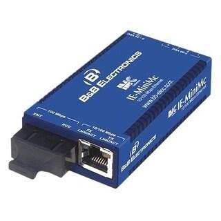 B&B IE-MiniMc, TP-TX/SSFX-SM1310-SC (1310xmt/1550rcv)