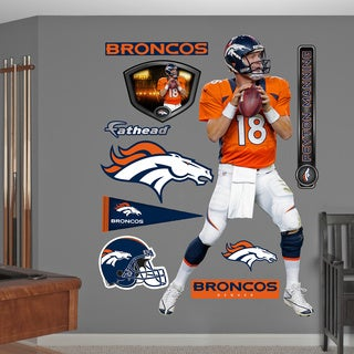 Fathead Peyton Manning Wall Decals