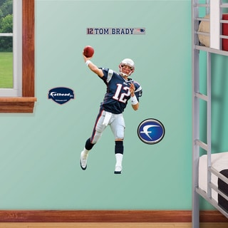 Fathead Jr. Tom Brady Wall Decals