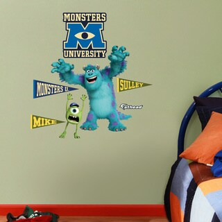 Fathead Jr. Monsters University Wall Decals