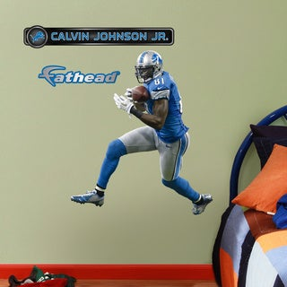 Fathead Jr. Calvin Johnson Wall Decals