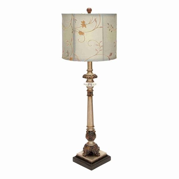 Metal Shade Buffet Lamp: Shop Metal/ Floral Shade Buffet Lamp