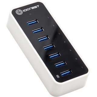 SYBA Multimedia Super Speed IO Crest 7-Port USB 3.0 Hub with AC Power|https://ak1.ostkcdn.com/images/products/9127799/P16311053.jpg?impolicy=medium