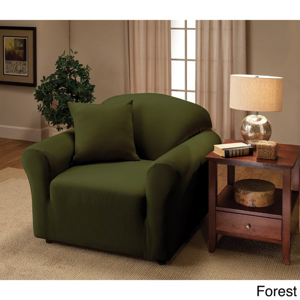 living room chair slipcovers. Stretch Jersey Chair Slipcover  Free Shipping On Orders Over 45 Overstock com 16311465