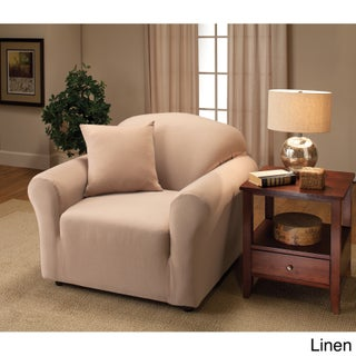 Stretch Jersey Chair Slipcover (Option: Linen)