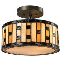 Raya 3-light Semi-flush Mount
