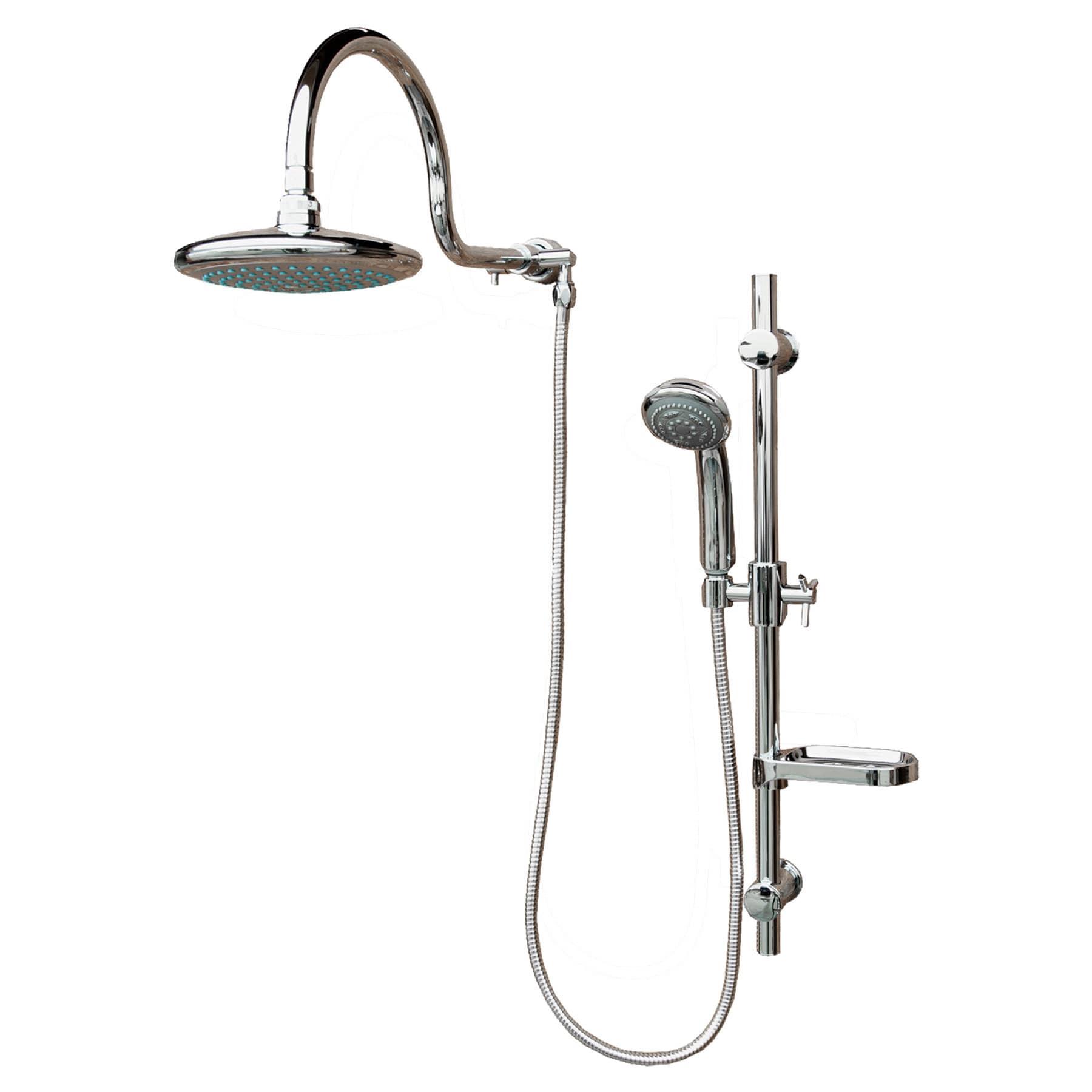 Pulse Aqua Rain Shower System (Silver)