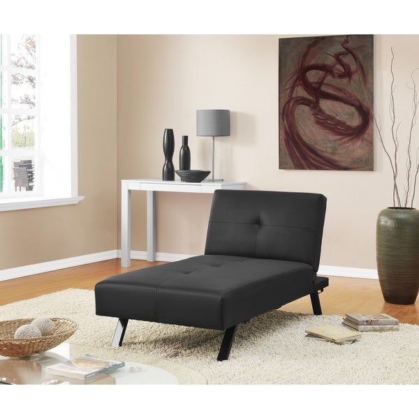 Shop Dhp Wynn Chaise Lounge Futon Bed Sleeper Free