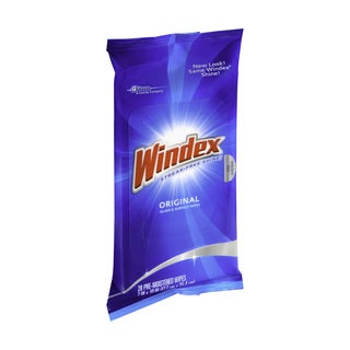 Windex Original Glass Cleaner Wipes (12-pack)