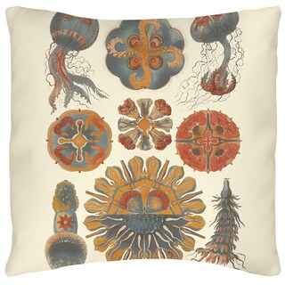 Sophisticated Sealife IV 19-inch Throw Pillow
