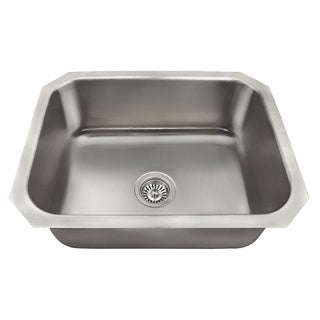 The Polaris Sinks P8301US 18 Gauge Kitchen Ensemble - grey