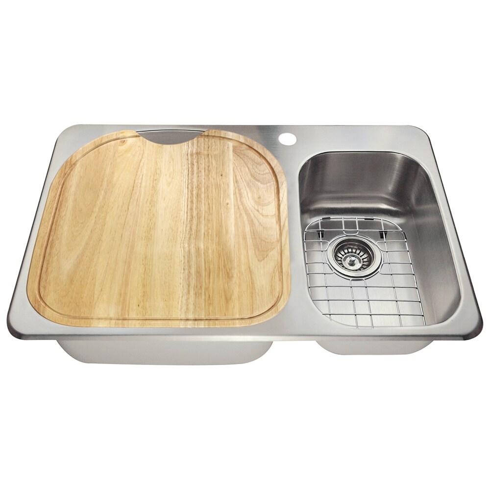 The Polaris Sinks PL1213T 18 Gauge Kitchen
