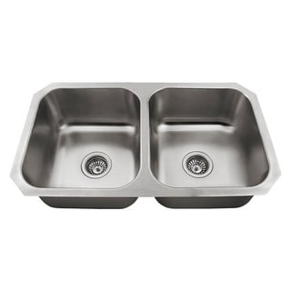 The Polaris Sinks P2201US 18 Gauge Kitchen Ensemble
