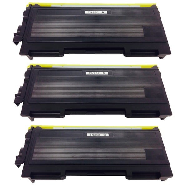 Brother TN350 TN-350 Black Toner Cartridge HL-2040 2070N MMC-7220 7225N 7420 7820N DCP-7020 p (Pack