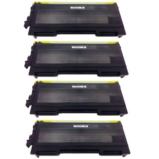 Brother TN350 TN-350 Black Toner Cartridge HL-2040 2070N MMC-7220 7225N 7420 7820N DCP-7020 p (Pack of 4)