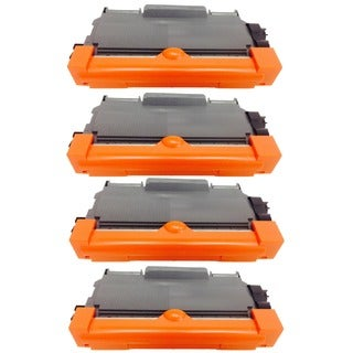 Compatible Brother TN450 Toner Cartridge HL 2132 2220 2230 2240 2250 2270 2280 DCP 7060 7065 M (Pack of 4)