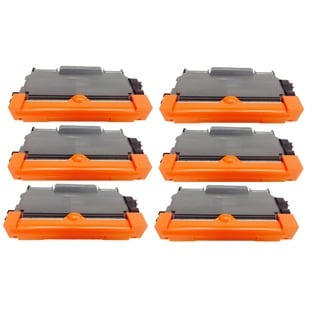 Compatible Brother TN450 Toner Cartridge HL 2132 2220 2230 2240 2250 2270 2280 DCP 7060 7065 M (Pack of 6)