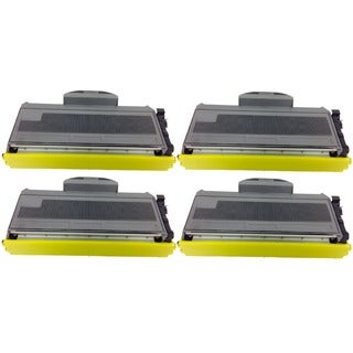 Brother TN360 Toner Cartridge DCP 7030 7040 7045 HL-2140 HL 2150 2170 MFC 7320 7340 7345 7345 (Pack of 4)