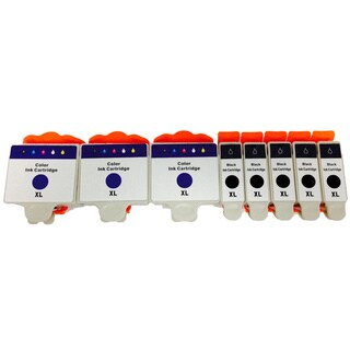 Replacement Series 20 Ink Cartridges for Dell DW905 DW906 (Pack of 8)