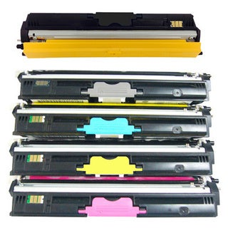 Compatible Color Set Toner Cartridge for Konica Minolta Magicolor 1600W/ 1650EN/ 1680MF/ 1690MF (Pack of 5)