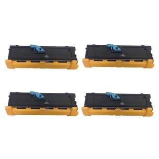 Toner Cartridges B4400 43502301 Black for Okidata OKI B4500 B4550 B4600 (Pack of 4)