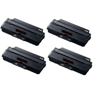 High Yield Toner Cartridge for Samsung 115L SL-M2820DW SL-M2870FW MLT-D115L MLT-D115S (Pack of 4)